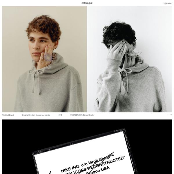CATALOGUE | Graphic Design, NYC & UK