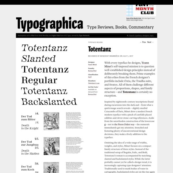 Are.na / Totentanz – Typographica