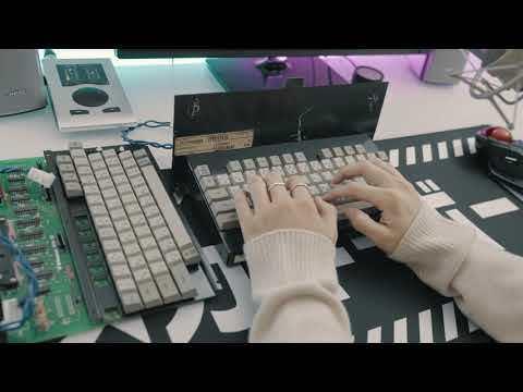 Kawasaki keyboard Typing Sounds ASMR