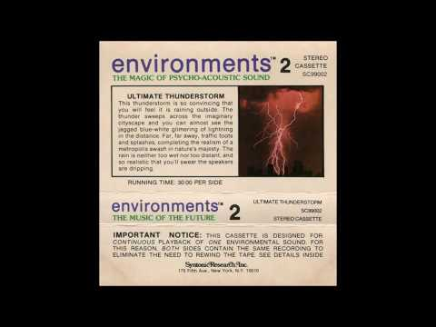 """Irving Soloman """"Irv"""" Teibel - Environments 2: Ultimate Thunderstorm (1979)"""