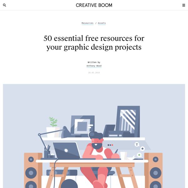 50 essential free resources for your graphic design projects