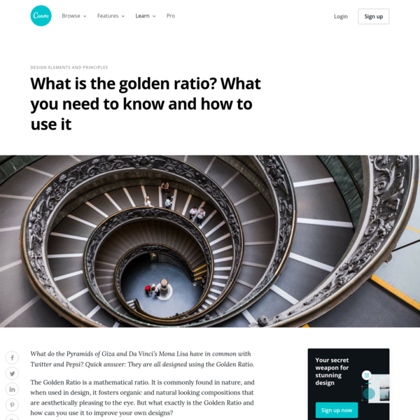 What is the golden ratio? What you need to know and how to use it - Learn