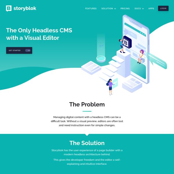 API-based & Headless CMS as a Service - Storyblok