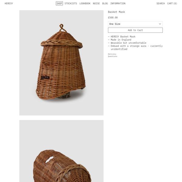 Basket Mask – HERESY