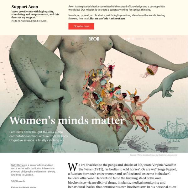 Women's minds matter