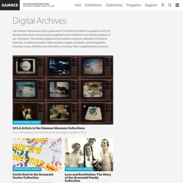 Digital Archives - Hammer Museum