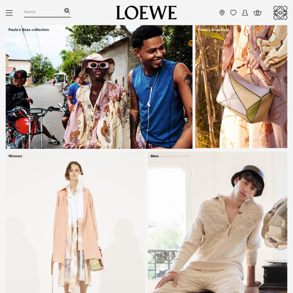 LOEWE official website - luxury clothes and accessories