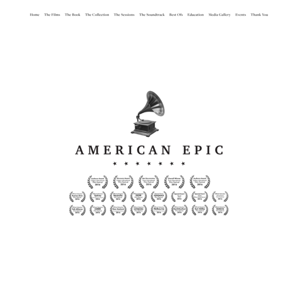 American Epic | The Official Movie Website