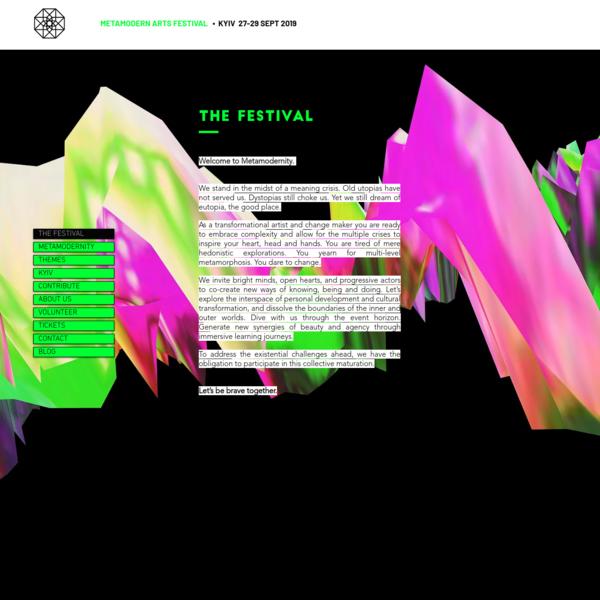 THE FESTIVAL | Metamodern Festival