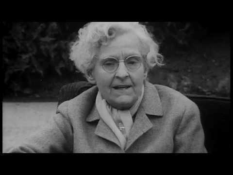 Syvlia Beach interview on James Joyce and Shakespeare & Company (1962)