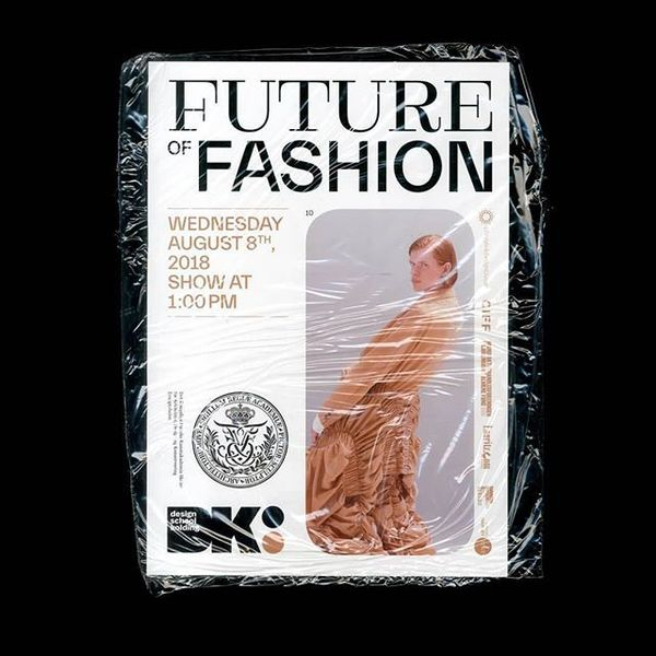 "@rimasuu_std ・・・ We worked on a booklet for ""Future of Fashion"", the presentation of @kadkdk and @designskolenkolding master..."