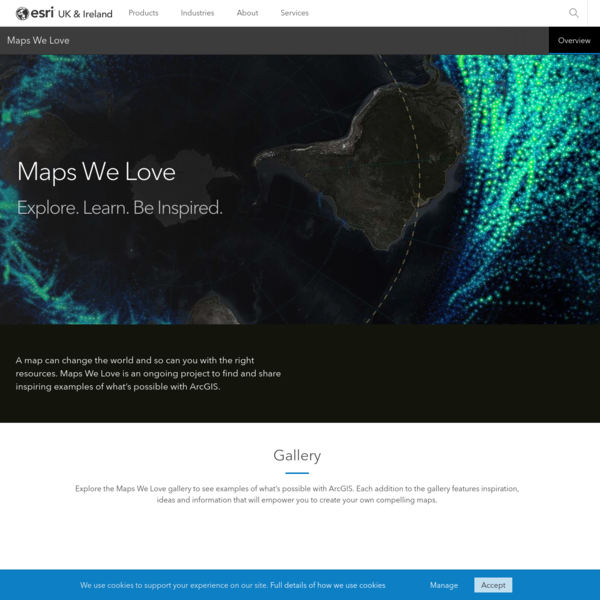 Maps We Love | Explore. Learn. Be Inspired