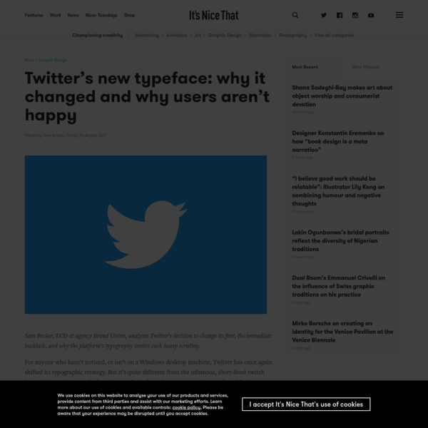 Twitter's new typeface: why it changed and why users aren't happy