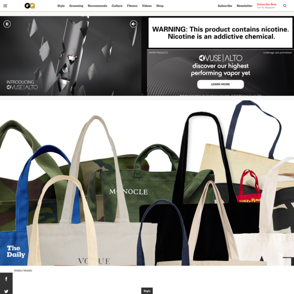 The Best Media Tote Bags, Ranked