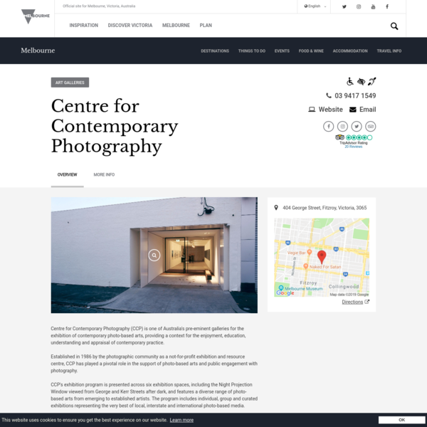 Centre for Contemporary Photography, Attraction, Melbourne, Victoria, Australia