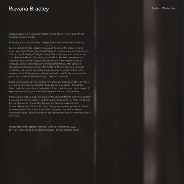 Rizvana Bradley