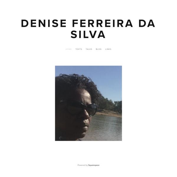 Denise Ferreira da Silva