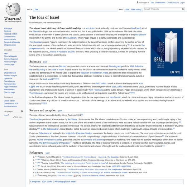 The Idea of Israel - Wikipedia