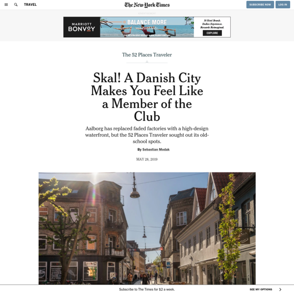 Skal! A Danish City Makes You Feel Like a Member of the Club