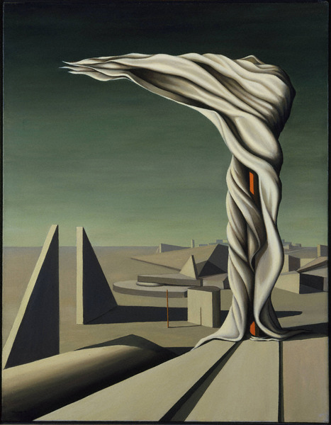 I Saw Three Cities, by Kay Sage
