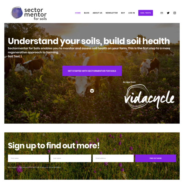 Sectormentor for Soils - Soil health tests you can do on farm