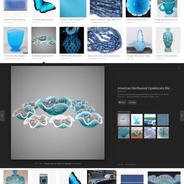 opalescent blue - Google Search