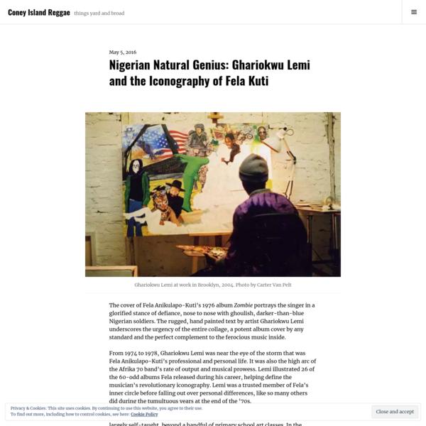Nigerian Natural Genius: Ghariokwu Lemi and the Iconography of Fela Kuti
