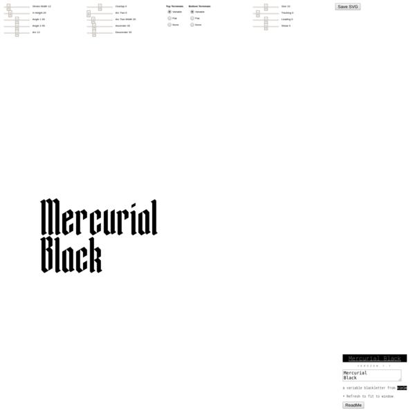 Mercurial Black