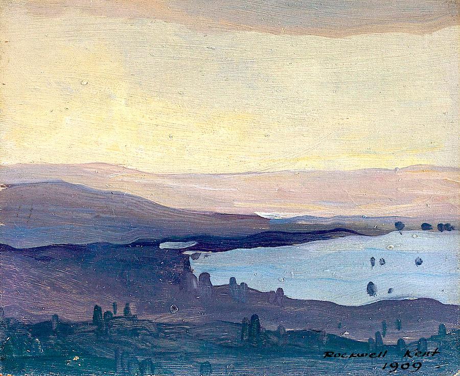 Monhegan - Rockwell Kent - 1909