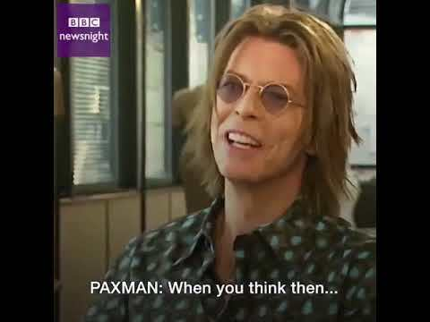 David Bowie on the impact of the Internet, 1999