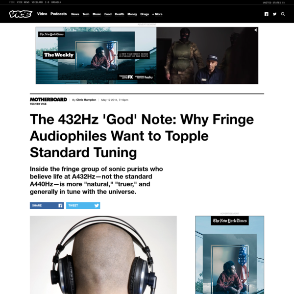 The 432Hz 'God' Note: Why Fringe Audiophiles Want to Topple Standard Tuning