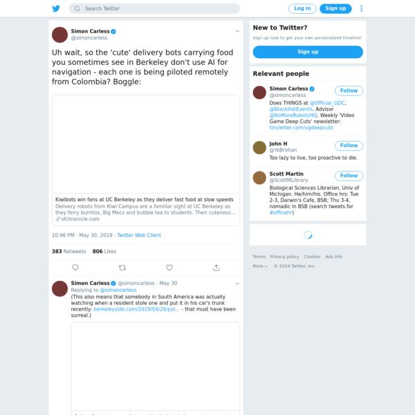Simon Carless on Twitter