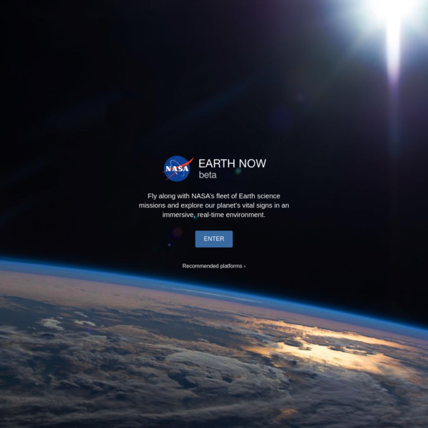 Climate Change: Earth Now