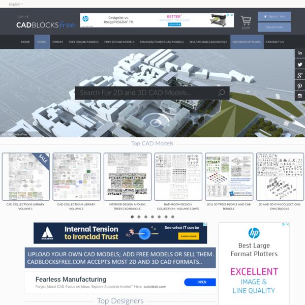 CAD Blocks Free -CAD blocks free
