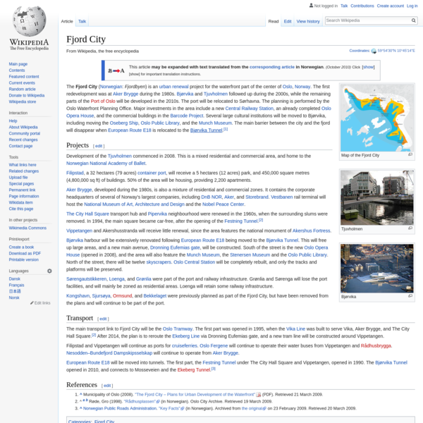 Fjord City - Wikipedia