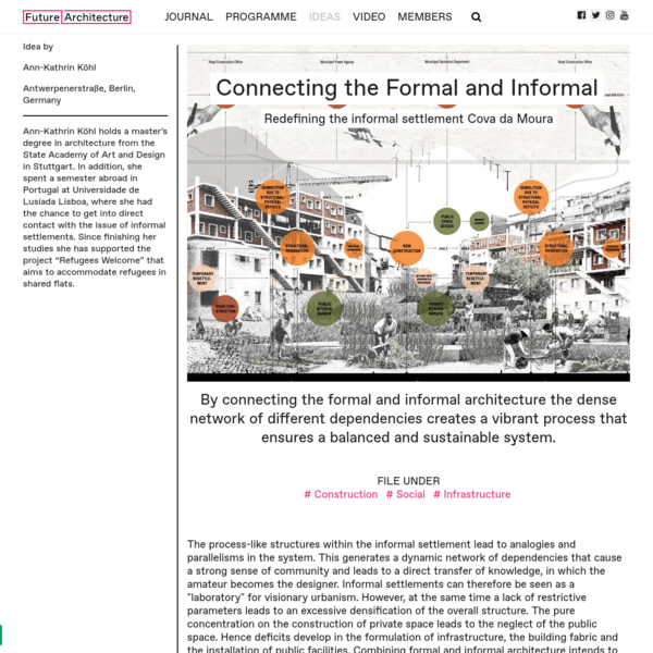 Connecting the Formal and Informal