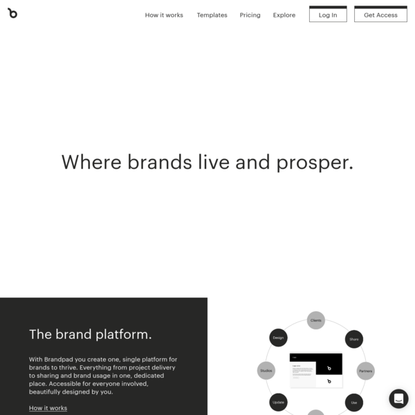 Brandpad™ - Brand guidelines system for designers and clients