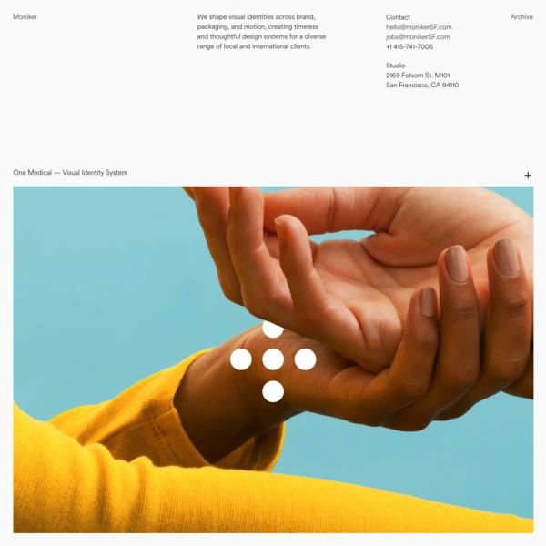 Moniker - Design & Branding