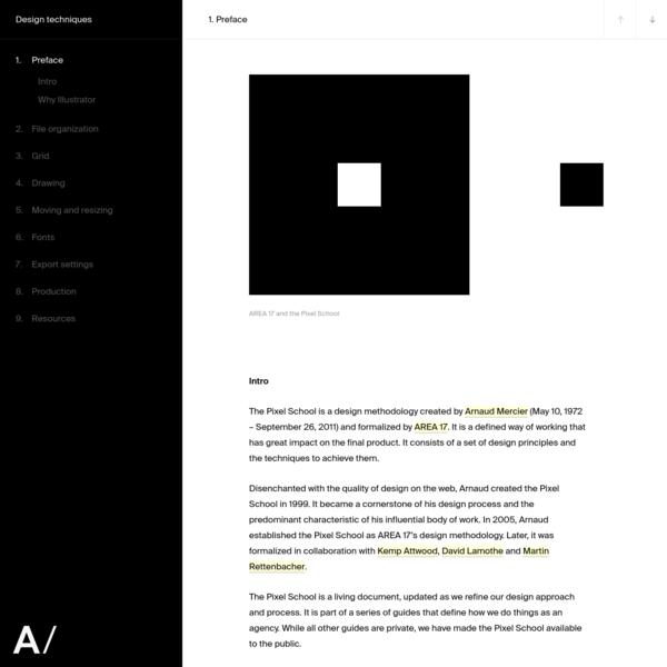 Design techniques - AREA 17