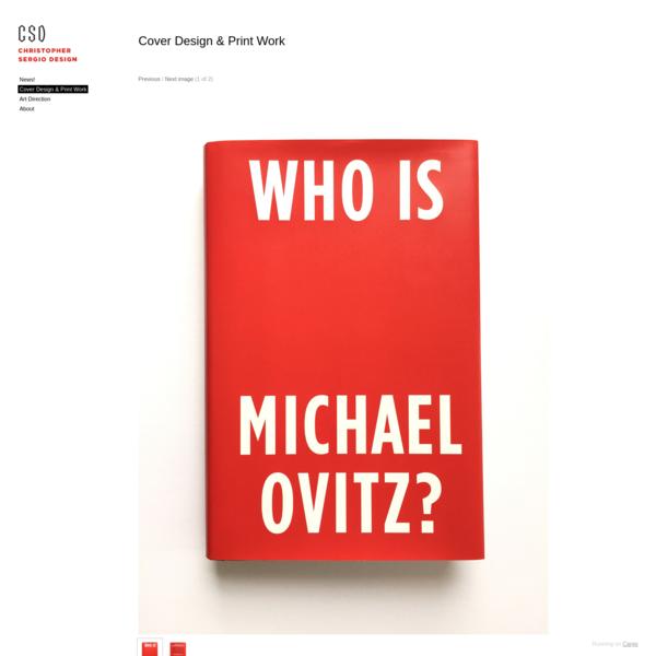 Cover Design & Print Work - Christopher Sergio Design
