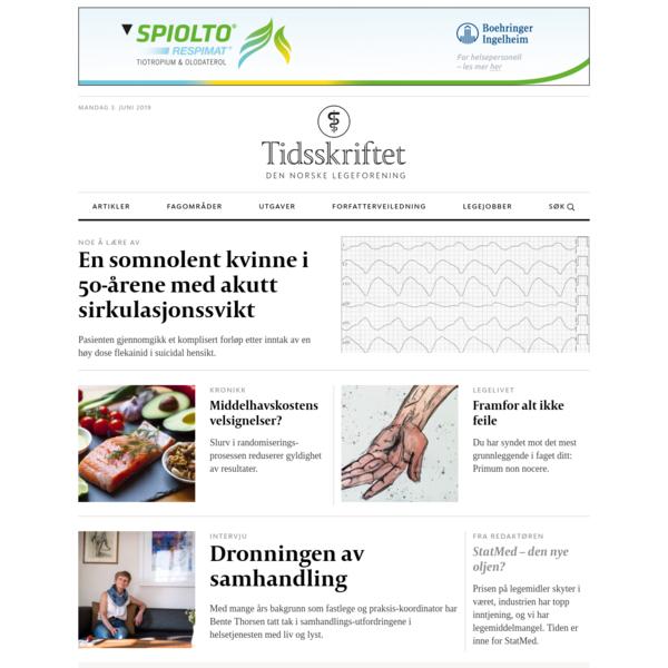 Tidsskrift for Den norske legeforening