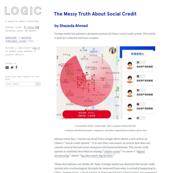 The Messy Truth About Social Credit
