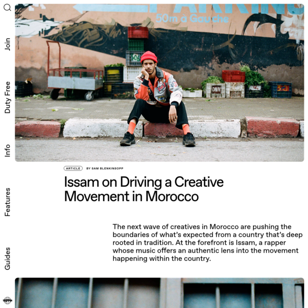 Issam on 'Makinch Zhar' and driving a creative movement in Morocco | Trippin