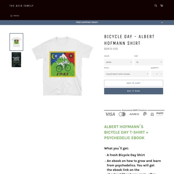 Bicycle Day - Albert Hofmann Shirt