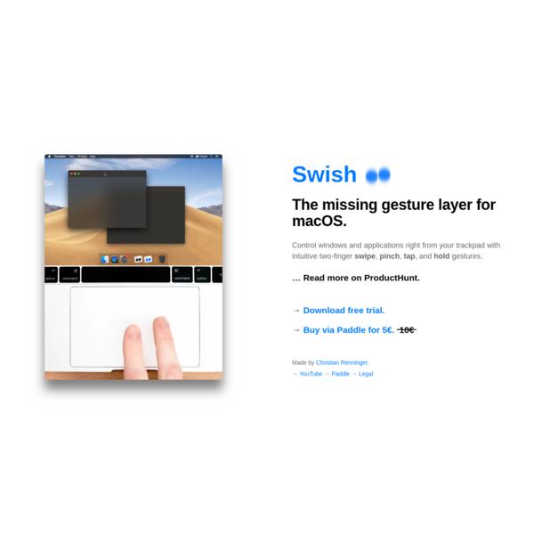 Swish for macOS