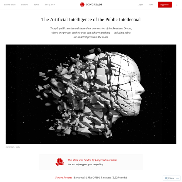 The Artificial Intelligence of the Public Intellectual