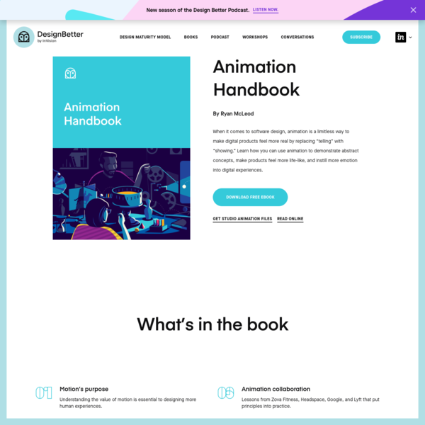 Animation Handbook   DesignBetter by InVision