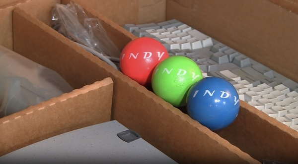 Every SGI Indy shipped with juggling balls