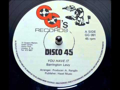 Barrington Levy - You Have It