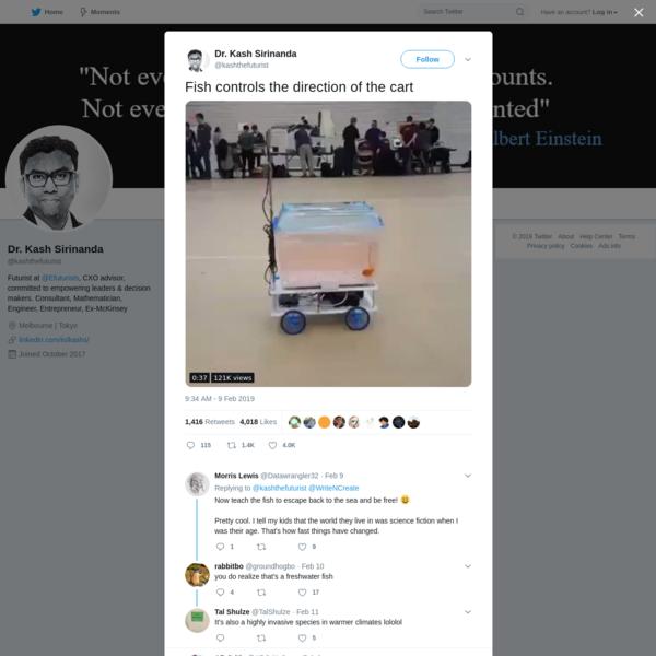 Dr. Kash Sirinanda on Twitter